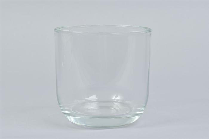 <h4>Glas Pot Zwaar Rond 14x14cm</h4>