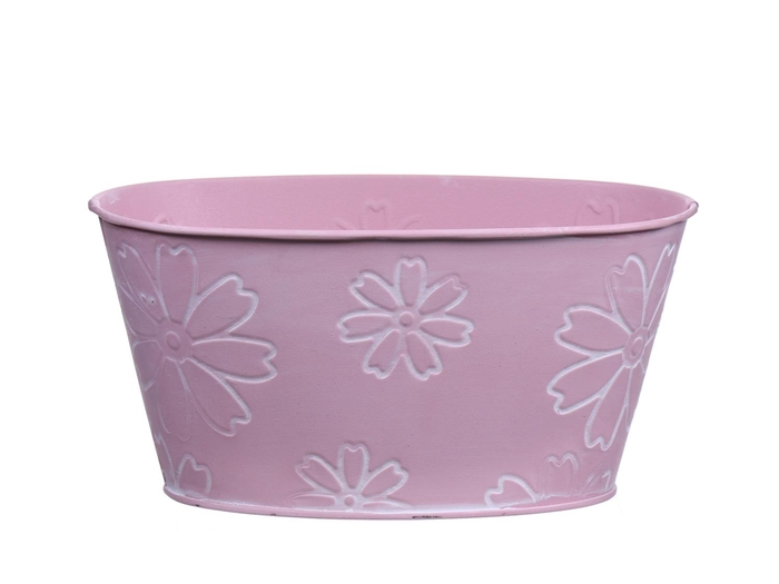 <h4>DF550242400 - Planter Jade3 20x12xh10 light pink</h4>