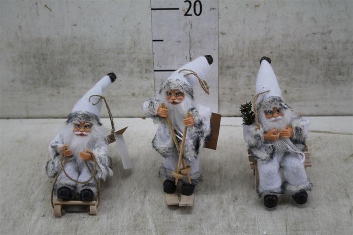 <h4>70001 Santaclaus Grey Hemse 3 Ass. H13-18 Deco</h4>