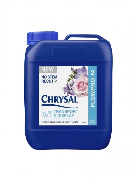 <h4>Abono organico Chrysal FlowPro 10L</h4>