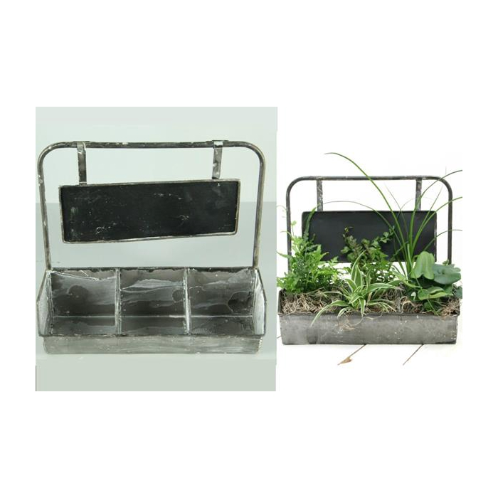 <h4>Planter Metal Storage Bin 3</h4>