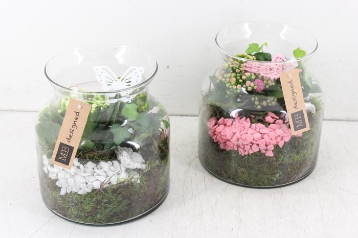 <h4>arr. MB - Candy jar M - roze/wit</h4>