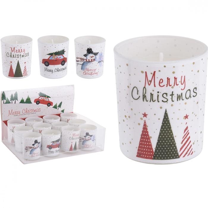 <h4>Christmas Glass Christmas d6*7cm ass</h4>