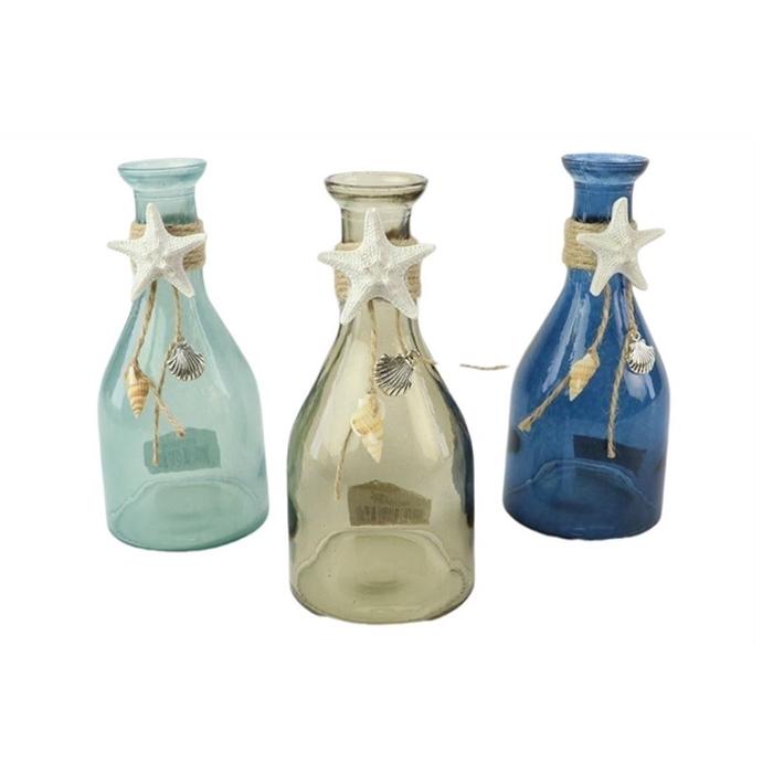 <h4>Glas Fles Riviera d7.5*16 3ass</h4>