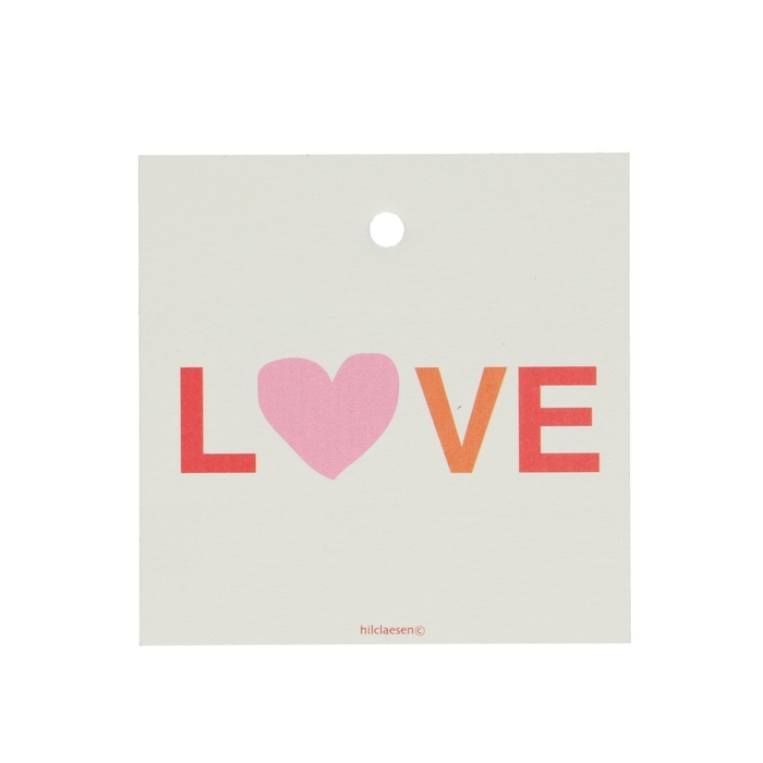 <h4>Labels Cards 70mm x25 Love</h4>