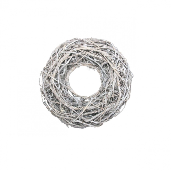 <h4>Wreath d48cm Vine root frosted</h4>