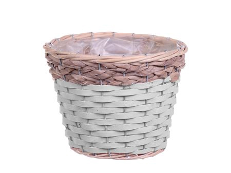 <h4>Basket Barwick d15.5xh13.5 white wash</h4>