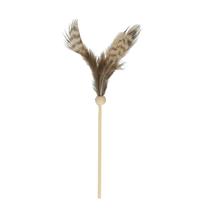 <h4>Bijsteker 20cm Veren fazant 10cm</h4>