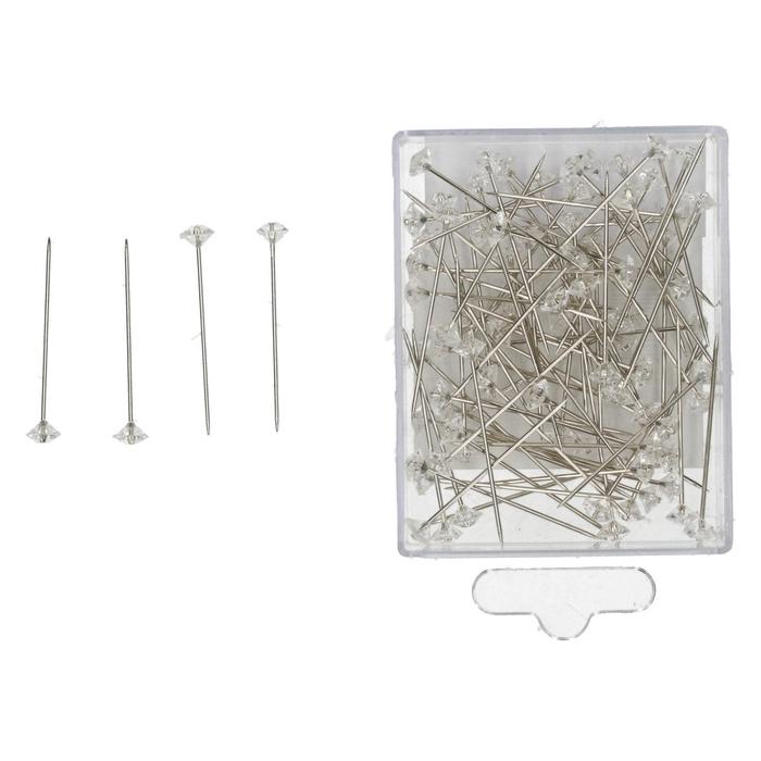 <h4>Alfileres Diamante/pin d06*40mm x85</h4>