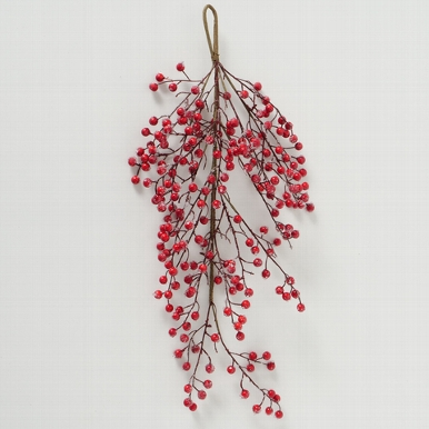 <h4>Zijde, Beliana Berries, L 75 cm, 1 ass, Red</h4>