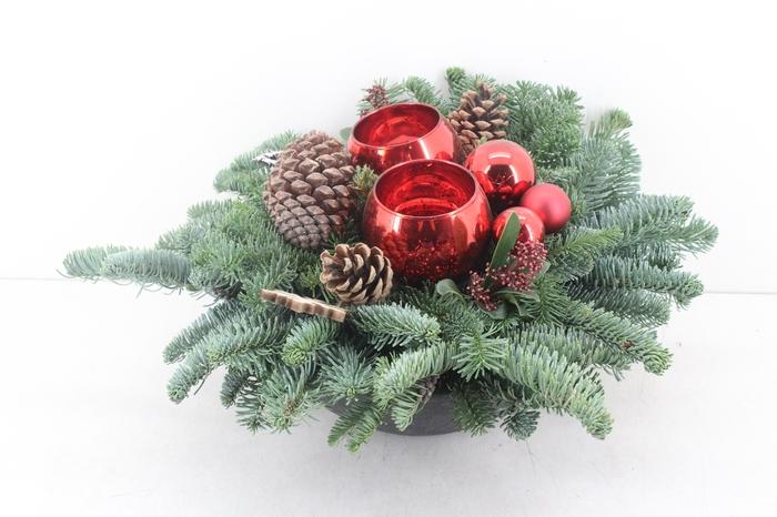 <h4>arr.. Kerst PL - Ebbischaal XL rood</h4>