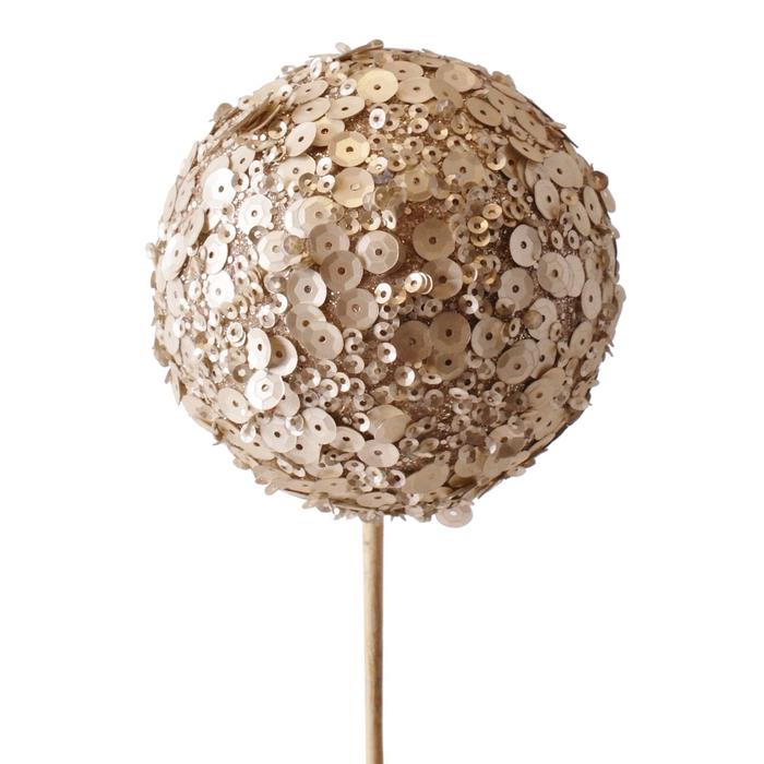 <h4>Christmas sticks 50cm Christmas ball 8cm sequin</h4>