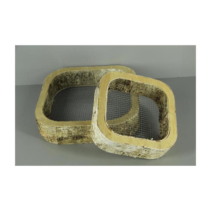 <h4>Frame Birch/mesh Squ.25-35 S/2</h4>