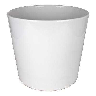 <h4>Pot Dallas Céramique Ø40xH37cm blanc brilliant</h4>