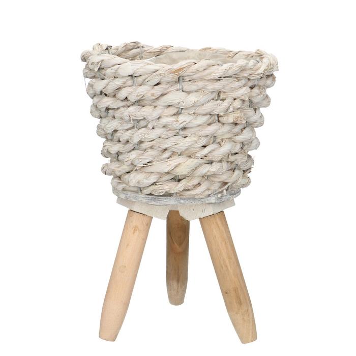 <h4>Baskets Pot/feet rope d15*14cm</h4>