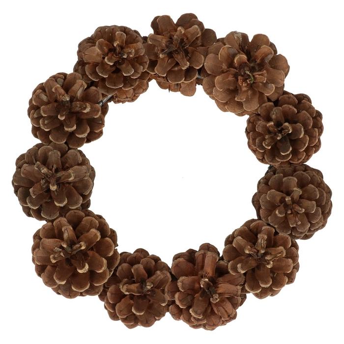 <h4>Wreath d20cm Pine cone</h4>