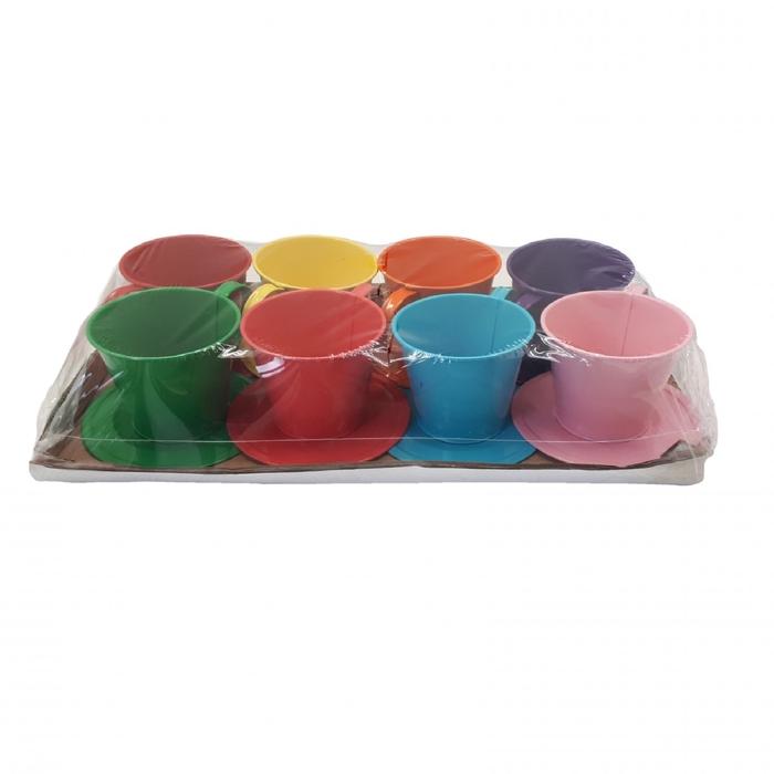 <h4>Zinc Cup+saucer d09*8cm</h4>