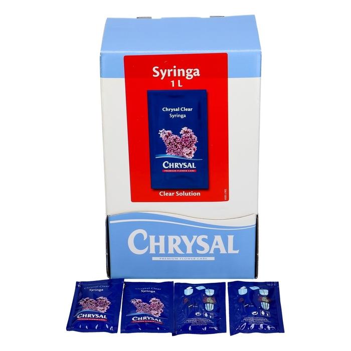 <h4>Verzorging Chrysal Syringa poeder 1L x100</h4>