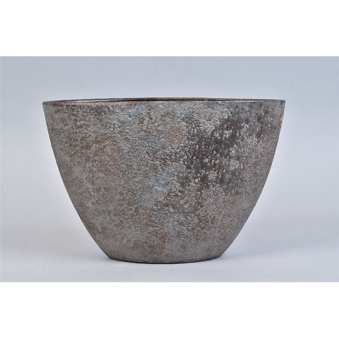 <h4>Bali Indonesian Grey Schaal Ovl 34x16x23cm Nvb</h4>