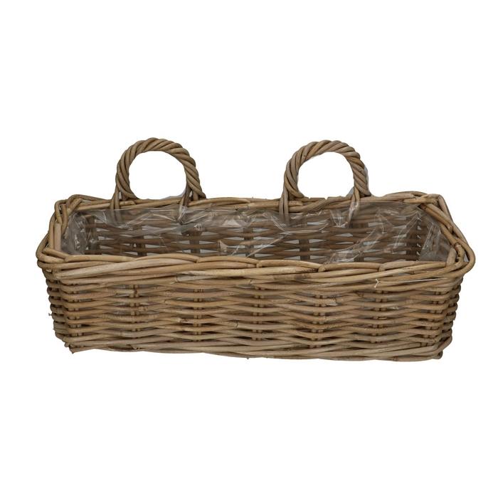 <h4>Baskets Rattan tray d50*18*15cm</h4>