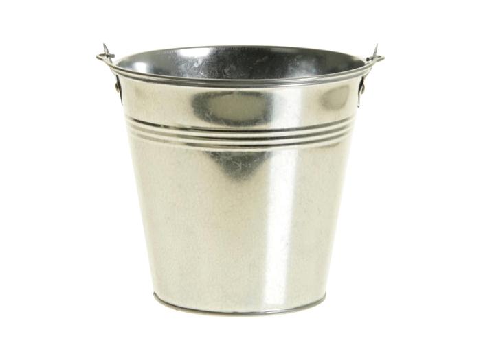 <h4>DF925210437 - Bucket zinc Ivydale d11xh9.6 silver</h4>
