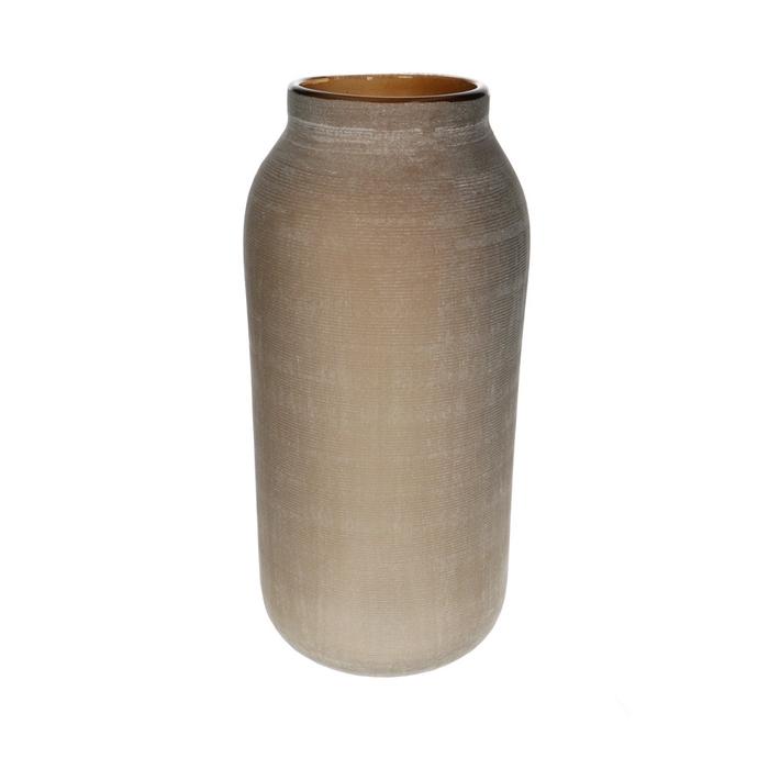 <h4>Glass colour Bottlevase d16*33cm</h4>