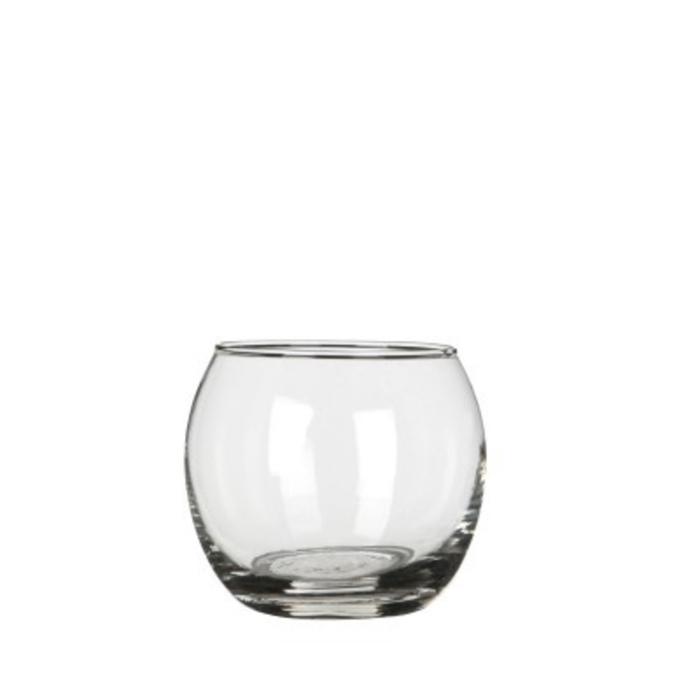 <h4>Glas Kogelvaas d08/9*7cm</h4>