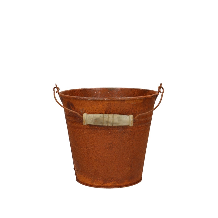<h4>Zinc Bucket rust d13*12cm</h4>