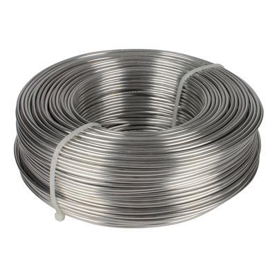<h4>Aluminiumdraad 2,0mm  - rol 1kg</h4>