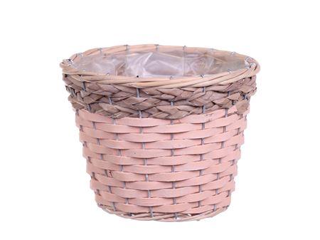 <h4>Basket Barwick d15.5xh13.5 pink/grey</h4>