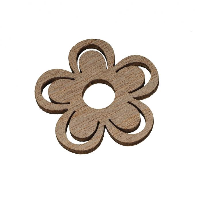 <h4>Voorjaar Bloem hout 4cm x24</h4>