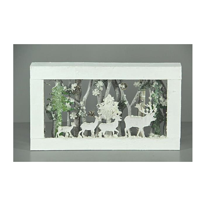 <h4>Christmas Frame Tree 50x30cm</h4>