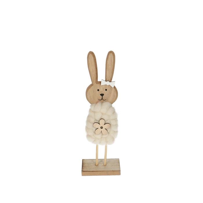 <h4>Promo Rabbit wood/foot d7*22cm</h4>