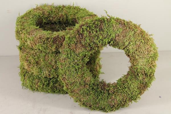<h4>Wreath Moss Green 40cm</h4>