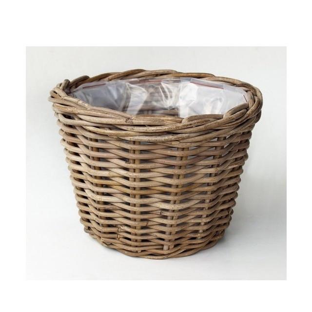 <h4>Baskets Rattan pot d25*18cm</h4>