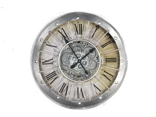 <h4>Clock Gear Ø59,5cm Grey 66799</h4>
