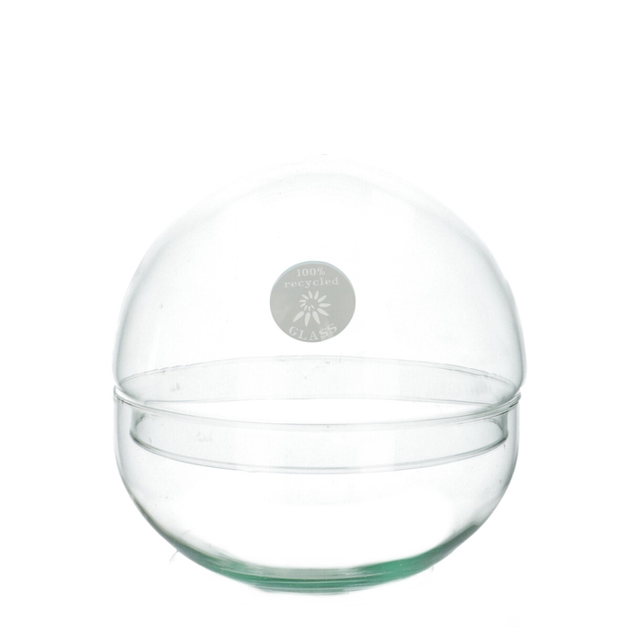 <h4>Glass Ball vase d19.5cm</h4>