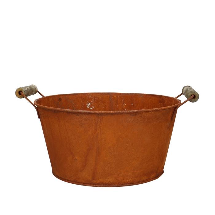 <h4>Zinc Rust tray d21*10.5cm</h4>