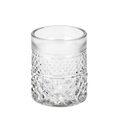 <h4>Pot Maputo glas Ø7xH8.5cm transparant</h4>