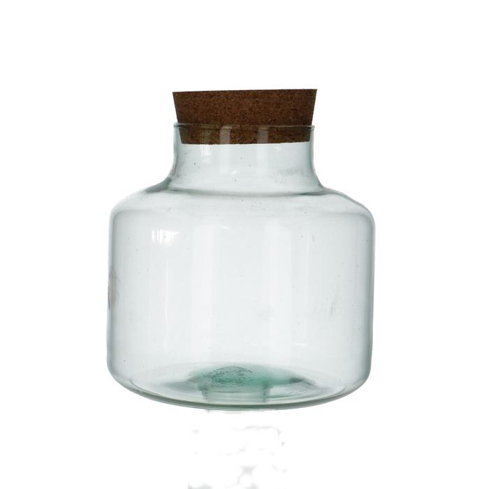 <h4>Glas Eco melkbus d10/21*21cm</h4>