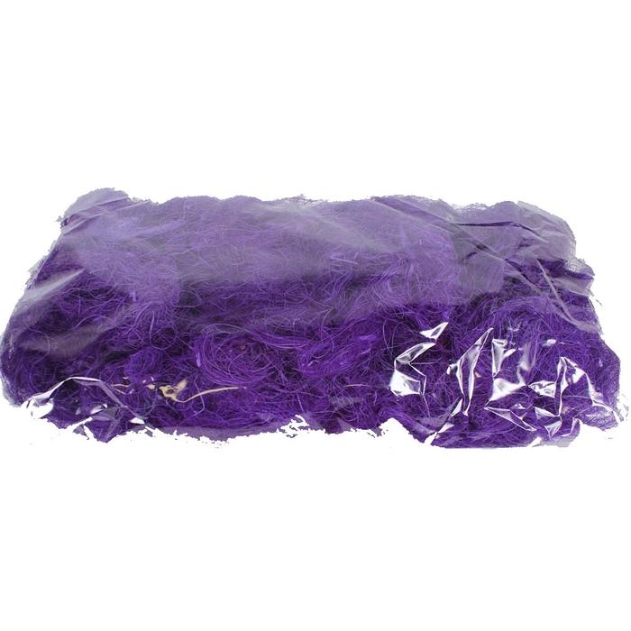 <h4>Coco fibre 250gram in poly purple</h4>
