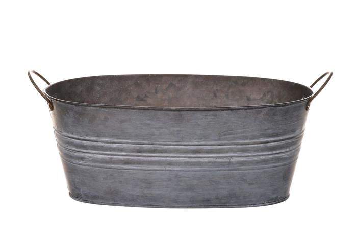 <h4>DF500061500 - Planter Yolanda 30.5x16 grey</h4>