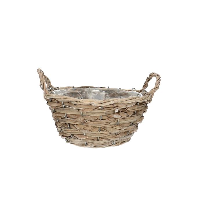 <h4>Baskets Dark round d22*11cm + ears</h4>