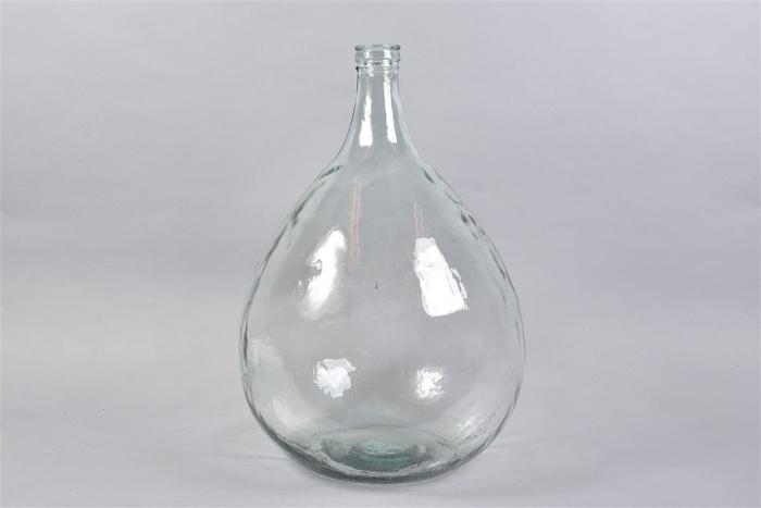 <h4>Glas Fles Belly 40x57cm</h4>