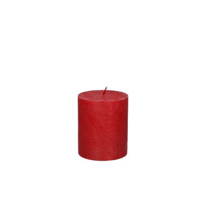 <h4>Candle Cyl.metall.d07*08cm rustic</h4>