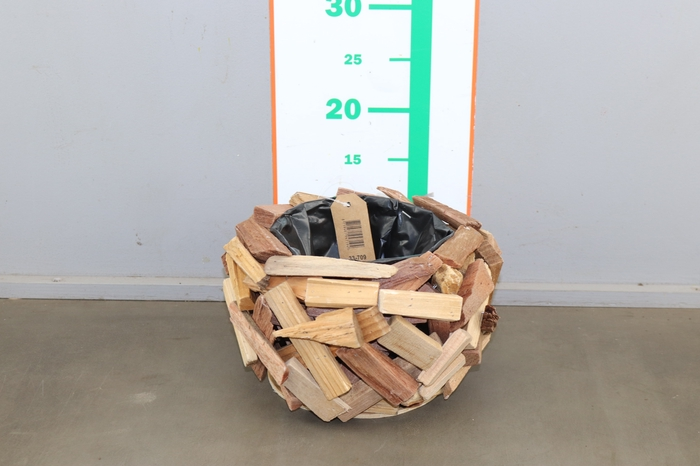 <h4>WOOD  PIECES  NATURAL H16XD25</h4>
