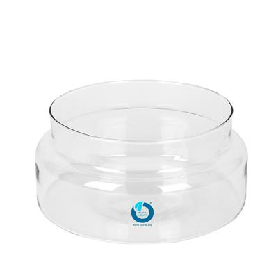 <h4>Schaal Belmont glas Ø20xH9,5cm recycled glas</h4>