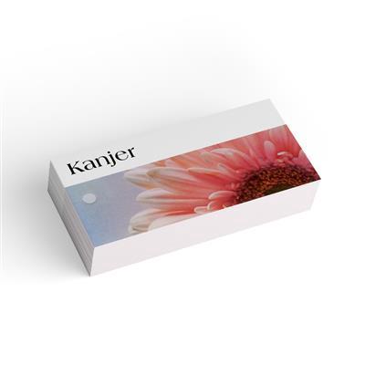 <h4>Bloemkaart stylish 10 kanjer-pakje 20 stuks</h4>