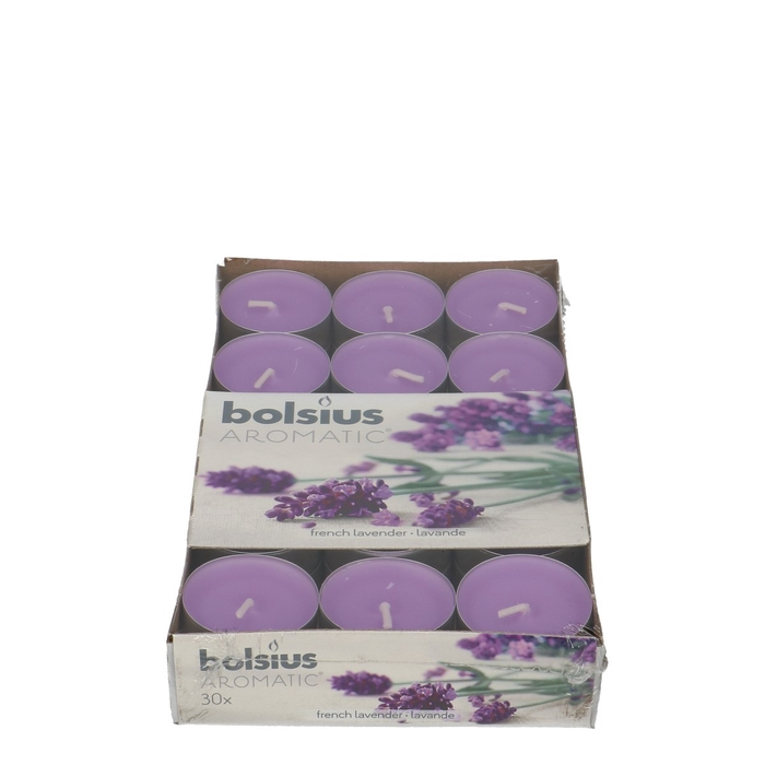 <h4>Candle Scent tealight Lavender x30</h4>