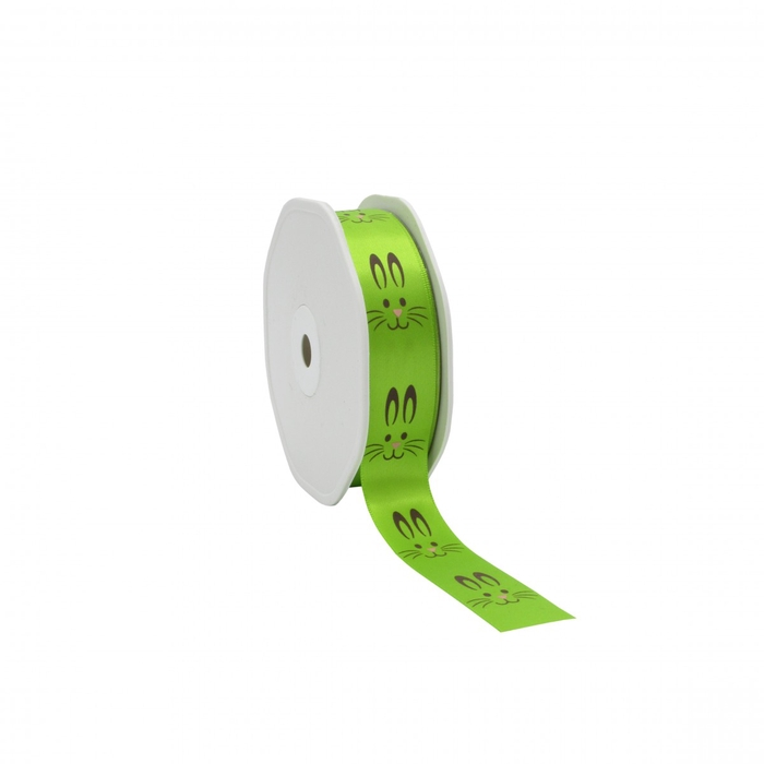 <h4>Easter Ribbon easter bunny 22mm 25m</h4>